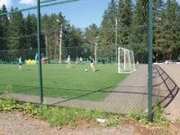 Спортивная площадка на базе отдыха Чайка