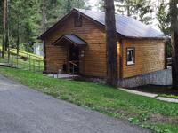 Комфортные домики в окружении леса с видом на Каму