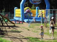Детская площадка на базе отдыха Чайка